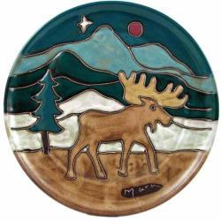 Mara Stoneware Moose Platter (Mexico)