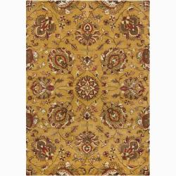 Mandara Hand-Tufted Wool Area Rug (7' x 10')