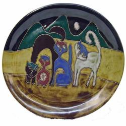 Mara Cats Oval Platter (Mexico)