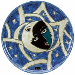 Mara Stoneware Round Eclipse Platter (Mexico)