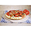 15-inch Ceramic Pizza Stone with Chrome Wire Rack