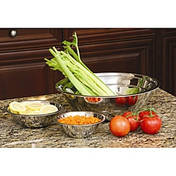 Stainless Steel Mixing Bowl Set (Set of 5)