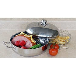 Stainless Steel 4.5-quart Versatile Cooking Pan