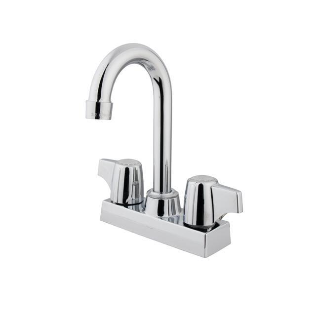 Chrome Two-handle Bar Faucet