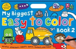 My Biggest Easy to Color, Book 2 (Paperback)