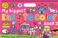 My Biggest Easy to Color Book 3 (Paperback)