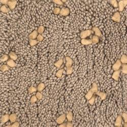 Handwoven Light Brown Mandara New Zealand Wool Rug (9' x 13')