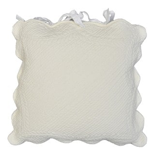 Aime Scalloped Decorative Pillow