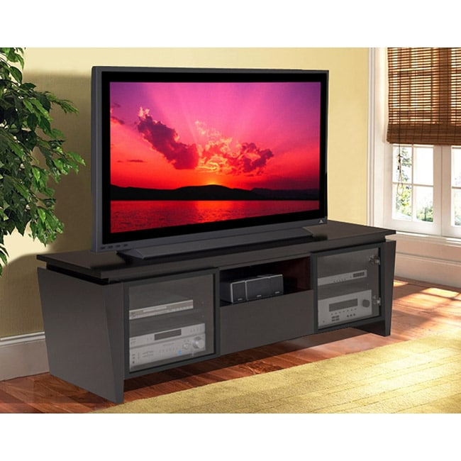 contemporary wenge 75 inch entertainment center 13711171 shopping great. Black Bedroom Furniture Sets. Home Design Ideas