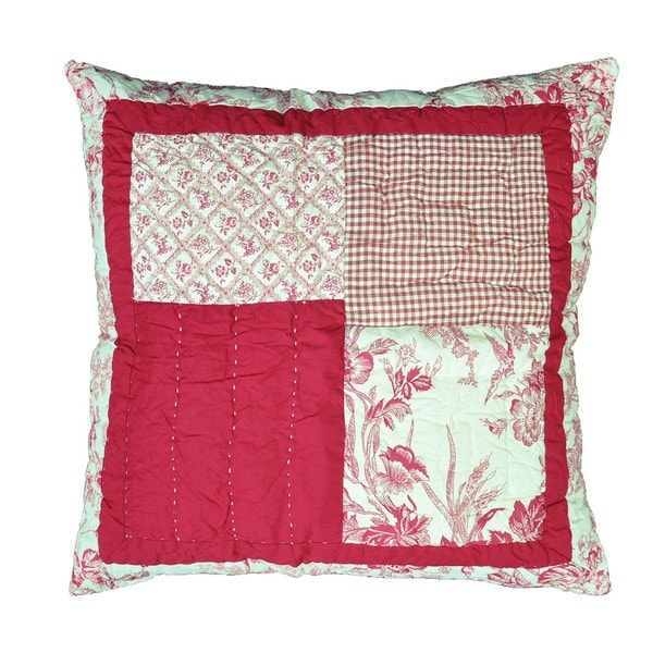 Betsy Patchwork Decorative Pillow
