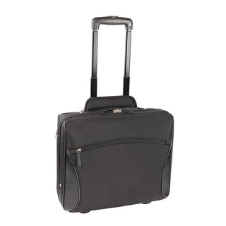 Bond Street 'Stay Open' Executive Rolling 17-inch Laptop Business Case