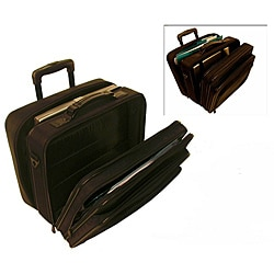 Stebco Black Rolling 17-inch Laptop Business Case