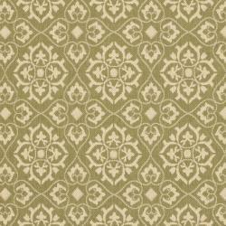 Safavieh Indoor/ Outdoor Green/ Creme Rug (5'3 x 7'7)