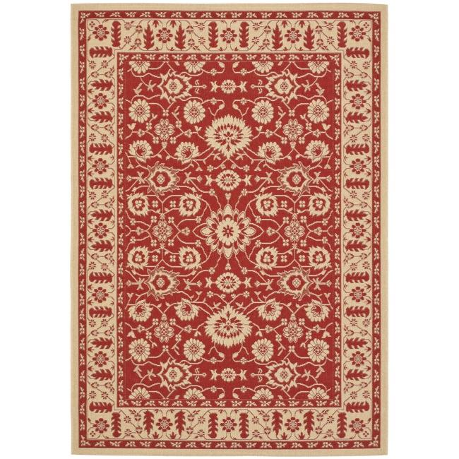 Safavieh Indoor/ Outdoor Red/ Creme Rug (2'7 x 5') at Sears.com