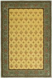 Safavieh Hand-hooked Morocco Beige/ Red Polypropylene Rug (6' x 9')