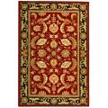 Safavieh Hand-hooked Kerman Red Rug