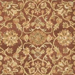 Safavieh Handmade Golden Jaipur Rust/ Green Wool Rug (9'6 x 13'6)