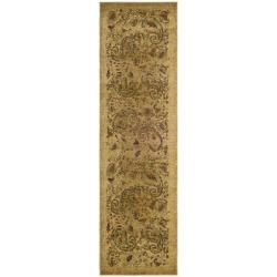 Lyndhurst Collection Paisley Beige/ Multi Runner (2'3 x 6')