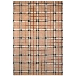 Safavieh Hand-knotted Lexington Sunset Rust Wool Rug (7'6 x 9'6)