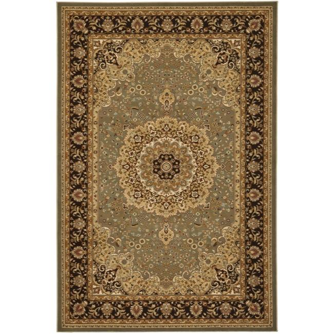 Safavieh Majesty Extra Fine Sage/ Brown Rug (7'9 x 9'9)
