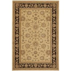 Majesty Extra Fine Camel/ Brown Rug (7'9 x 9'9)