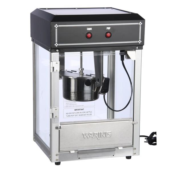Waring Pro WPM55SA Black Popcorn Maker