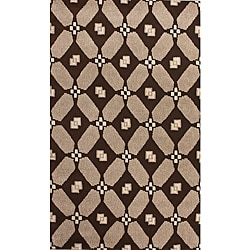 nuLOOM Hand-knotted Napalese New Zealand Wool Area Rug (7'6 x 9'6)
