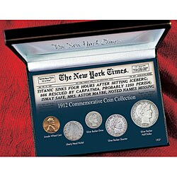American Coin Treasures New York Times Titanic 1912 Commemorative Coin Collection