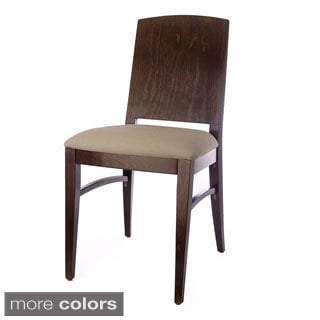 Condor Walnut/ Mahagony Side Chairs (Set of 2)