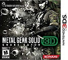 NinDS 3DS - Metal Gear Solid 3D