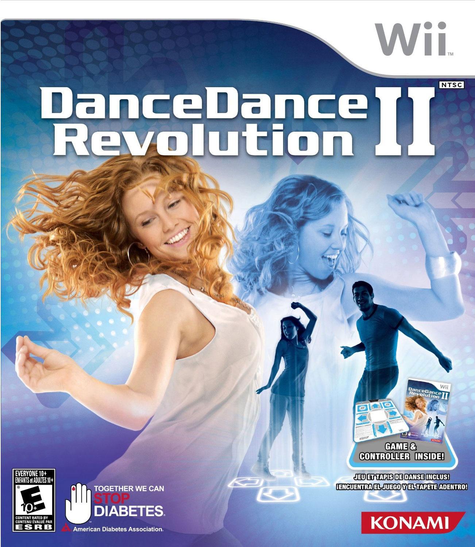 Wii - Dance Dance Revolution 2 Bundle