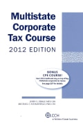 Multistate Corporate Tax Course 2012 (Paperback)