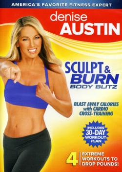 Denise Austin: Sculpt & Burn Body Blitz (DVD)