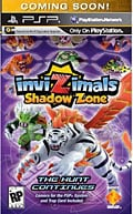 PSP - inviZimals: Shadow Zone - By Sony Computer Entertainment