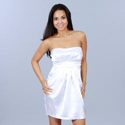 JFW/Wishes Juniors Party Dress with Pleated Empire Waistband