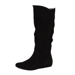 Sam & Libby Women's 'Profess' Black Slouch Boots