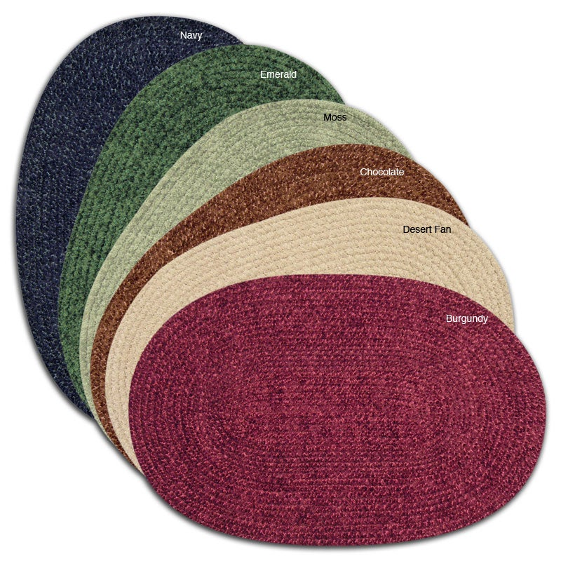 Heritage Chenille Braided Rug (2'6 x 4'2)