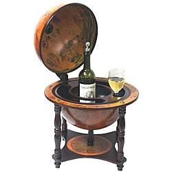 Merske 13-inch Italian Replica Globe Bar