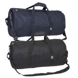 Everest 23-inch Polyester Rounded Duffel Bag
