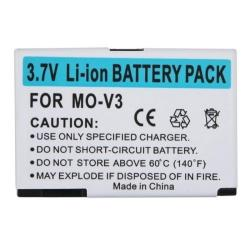 Rechargeable Li-ion Battery Pack with Microchip for Motorola Razr V3