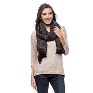 Selection Privee 'Melissa' Reversible Wool Shawl Wrap