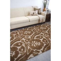 Hand-tufted Tacoma Wool Rug (8' x 11')