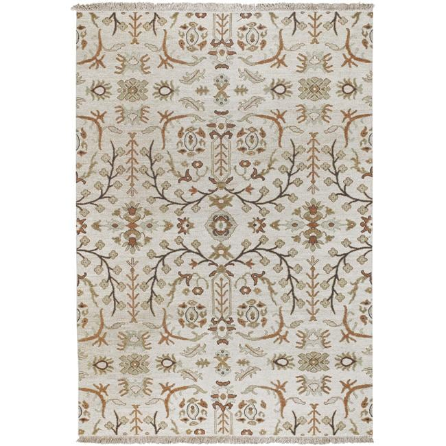 Hand-knotted Montgomery Wool Rug (9' x 12')