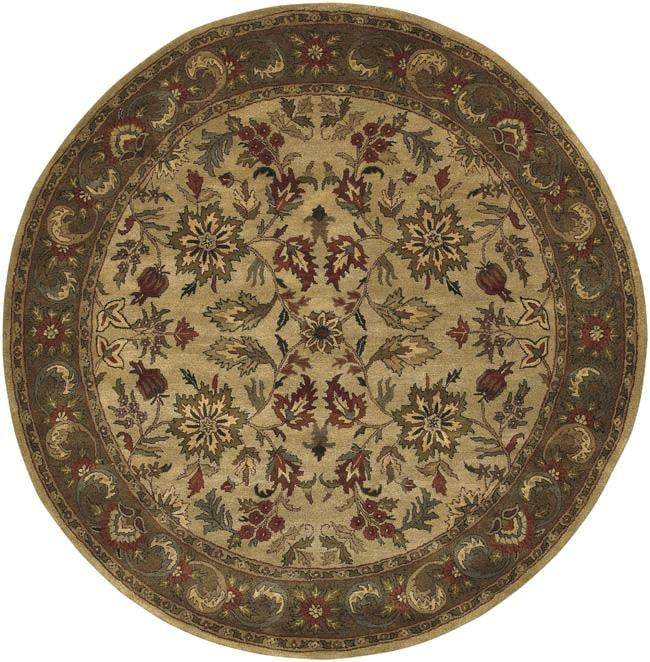 Hand-tufted Newark Wool Rug (8' Round)