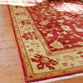 Hand-knotted Antolya Wool Rug (8' x 11')