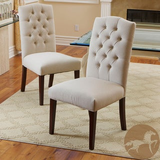 White leather dining chairs wooden dining room chairs for Fabric dining room chairs