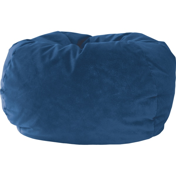 Gold Medal Kid's Blue Suede Beanbag