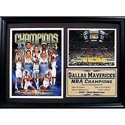 Dallas Mavericks 2011 NBA Champions Frame