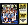2011 NBA Champions Dallas Mavericks Plaque