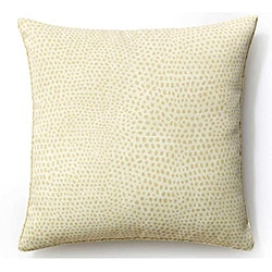 Cream Cheetah 20x20-inch Outdoor Pillow